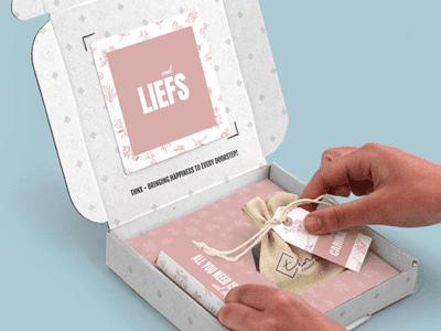 Brievenbuspakketje Zomaar Pink Blossom Pakket Tony Chocolonely Bloemzaden