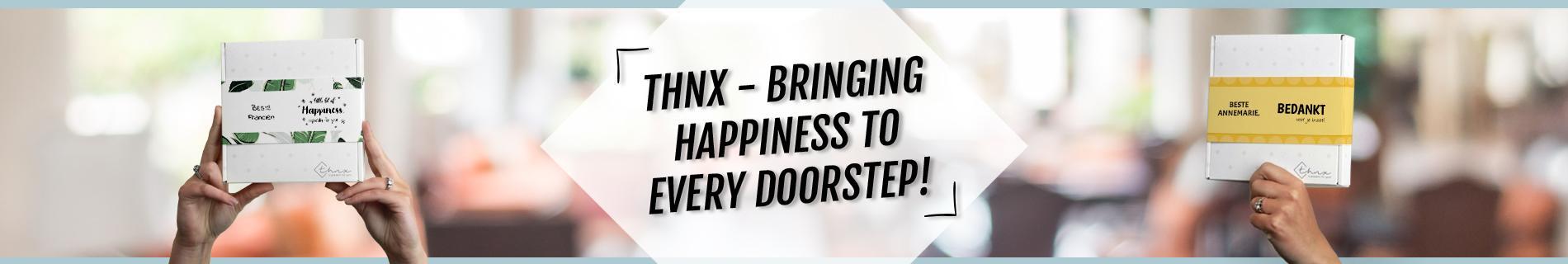 Brievenbuspakketje Bring Happiness To Every Doorstep