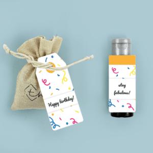 THNX Brievenbuspakketje Verjaardag Confetti Pakket Bloemzaden Janzen Handcrème