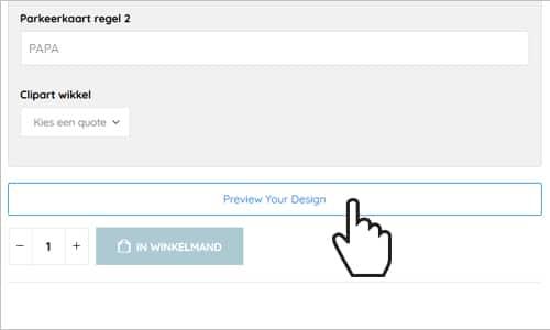 Brievenbuspakketje Stap 2 Uitleg Online Design Tool