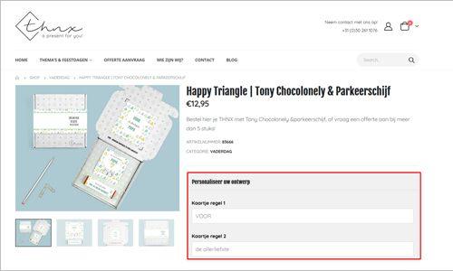 Brievenbuspakketje Stap 1 Uitleg Online Design Tool