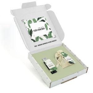 Inhoud Brievenbuspakketje Collega Cadeau Evergreen Pakket Janzen Handcrème Bloemzaden