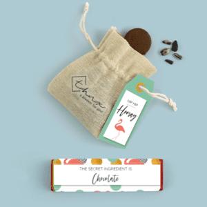 Inhoud Brievenbuspakketje Verjaardag Flamingo Pakket Tony Chocolonely Bloemzaden