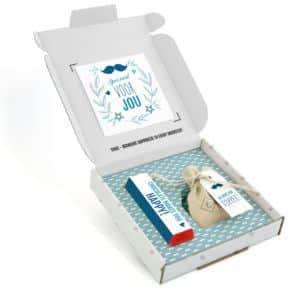 Inhoud Brievenbuspakketje Cadeau Voor Mannen Vaderdag Moustache Pakket Tony Chocolonely Bloemzaden