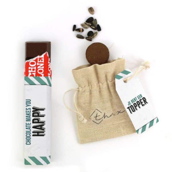 Inhoud Brievenbuspakketje Cadeaus Voor Mannen Vaderdag Vintage Car Pakket Tony Chocolonely Bloemzaden