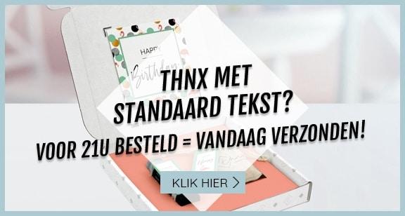 thnx-met-standaard-tekst