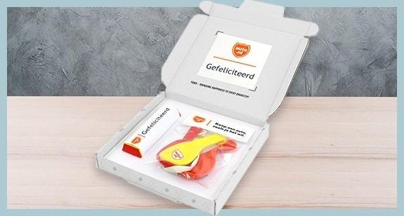 auto.nl voorbeeld brievenbusdoosje THNX