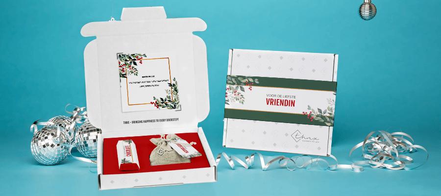 Inhoud Brievenbuspakketje Kerst Holiday Branch Pakket Tony Chocolonely Bloemzaden