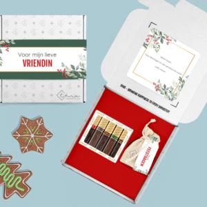 Inhoud Brievenbuspakketje Kerst Holiday Branch Pakket Merci Kerstboomzaadjes
