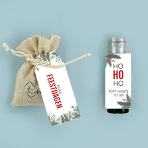 Inhoud Brievenbuspakketje Kerst Holiday Branch Pakket Janzen Handcrème Kerstboomzaadjes