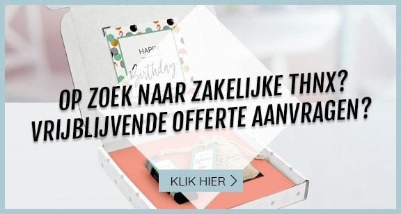 zakelijke THNX aanvraag