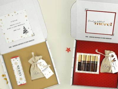 Inhoud Brievenbuspakketje Kerst Cadeau