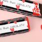 brievenbusdoosje met Tony chocolonely chocoladereep