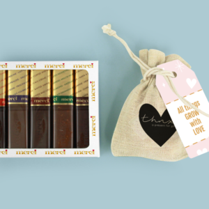 Inhoud Brievenbuspakketje Valentijn Romantic Pakket Merci Bloemzaden