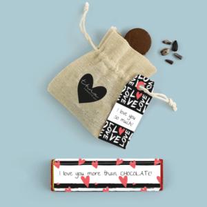 Inhoud Brievenbuspakketje Valentijn Love Pakket Tony Chocolonely Bloemzaden