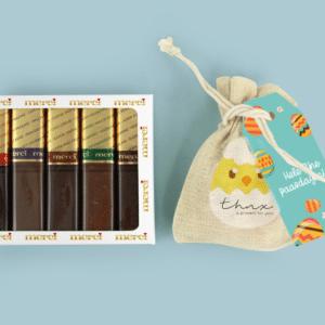 Inhoud Brievenbuspakketje Pasen Bunny Pakket Merci Bloemzaden