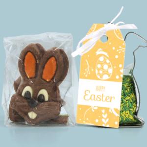 Inhoud Brievenbuspakketje Pasen Classic Easter Pakket Koeksteker Choco Paashaasjes
