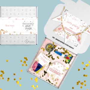 Inhoud Brievenbuspakketje Verjaardag Party Cadeau Feestpakket Celebrations Ballonnen Confetti
