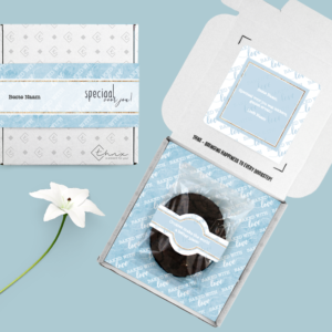 brievenbuscadeau chocoladekoek thnx