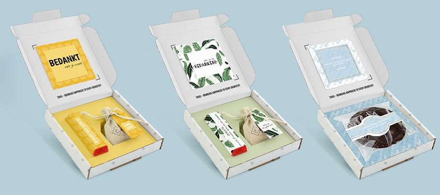Voorbeelden Brievenbus Cadeau Collega Chocolade
