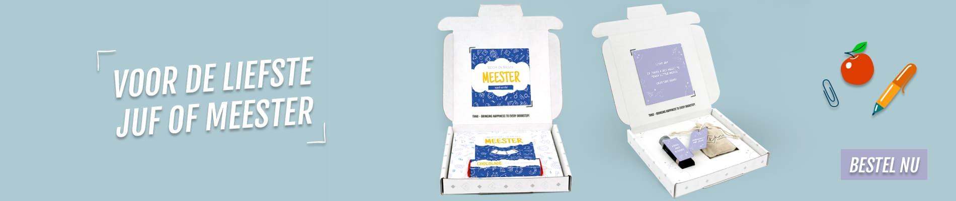 THNX Brievenbuspakket Juf en Meester
