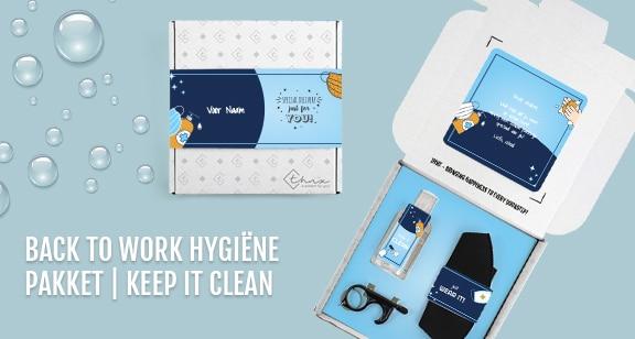 Voorbeeld Hygiëne Pakket Keep It Clean