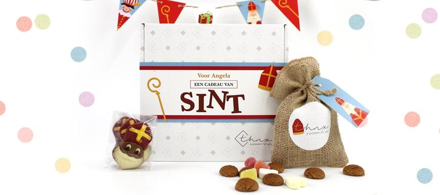 Brievenbus Cadeau Sinterklaas Zakelijk Relatiegeschenk voor Sinterklaas Chocolade Pepernoten Vlaggenlij
