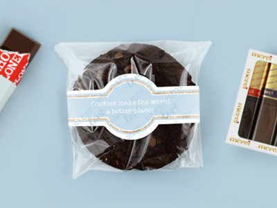 Brievenbuspakketje Wereld Chocoladedag Tony Chocolonely Chocoladekoek Merci