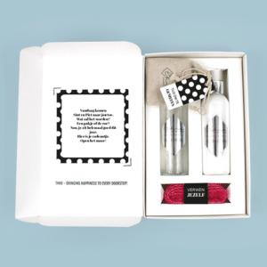 Brievenbus Cadeau Sinterklaas Gedicht Wellnesspakket Bodylotion Showergel Scrubzout