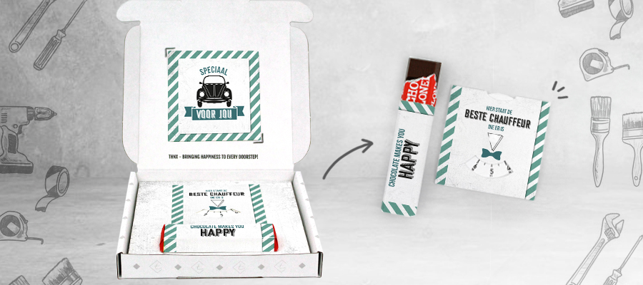 Brievenbuscadeau Origineel Verjaardagscadeau Voor Een Man Tony Chocolonely Parkeerschijf