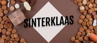 Brievenbuspakketjes Sinterklaas Overzicht Sinterklaassnoepgoed Pakjesavond Ganzenbord Spelpakket Jute zak met Pepernoten